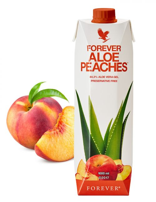 aloe-peaches